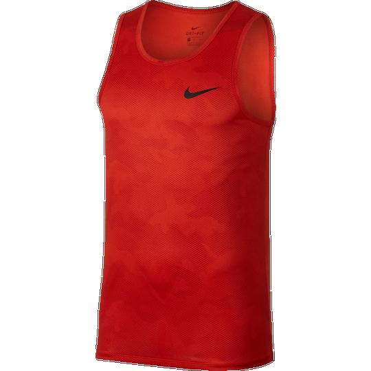 Nike Legend AOP Tank - Men s - Training - Clothing - Habanero Red Camo d865e73e369