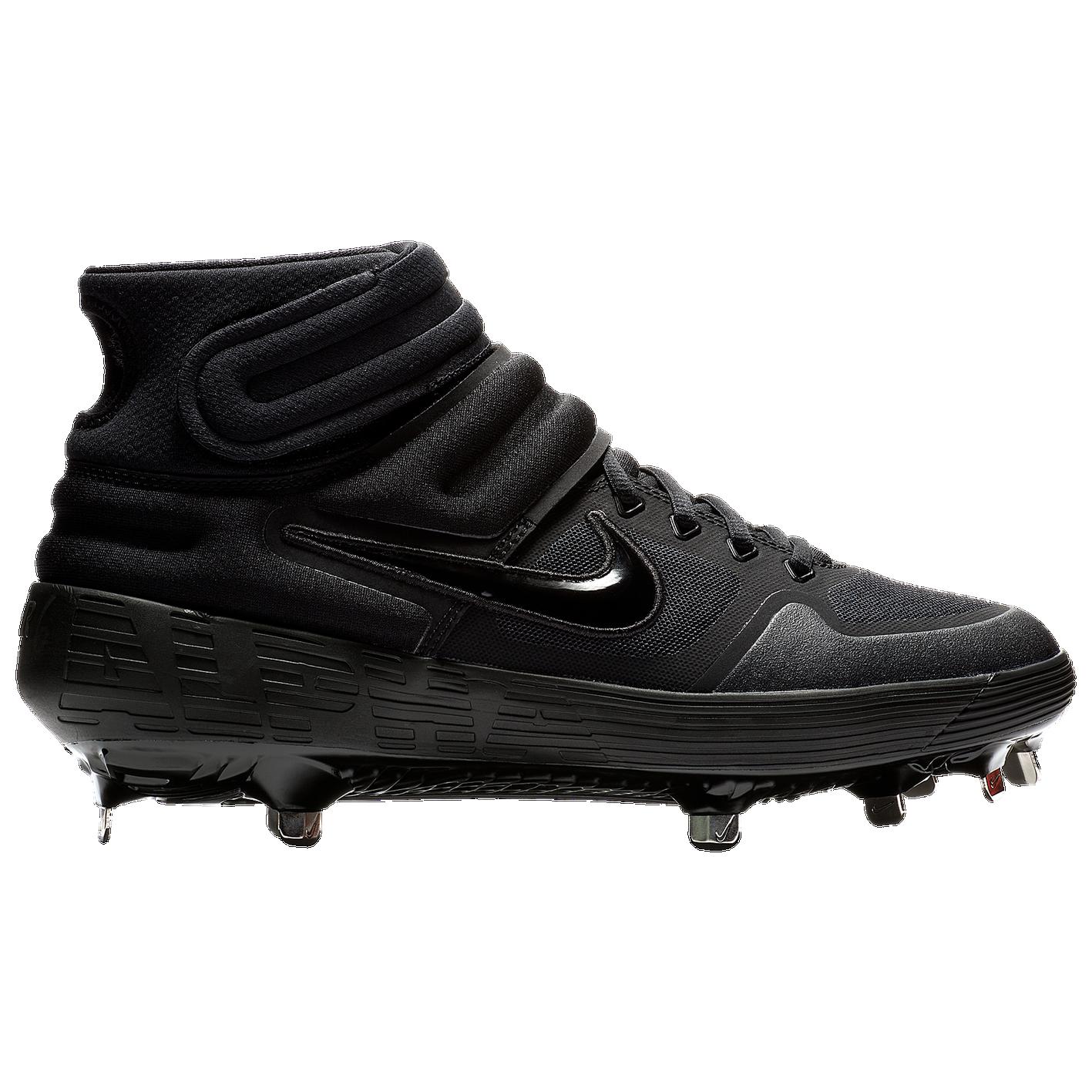 55dcac5e441 Nike Alpha Huarache Elite 2 Mid - Men s - Baseball - Shoes - Black ...
