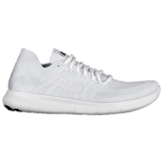 Nike Free RN Flyknit 2017 - Men s - Running - Shoes - White Pure ... 3034ed909db3b