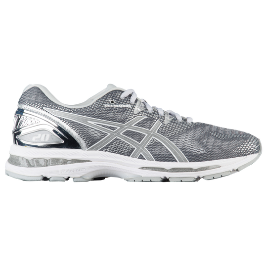 ASICS® GEL-Nimbus 20 - Men s - Running - Shoes - Carbon Silver White 4b0241ed39018