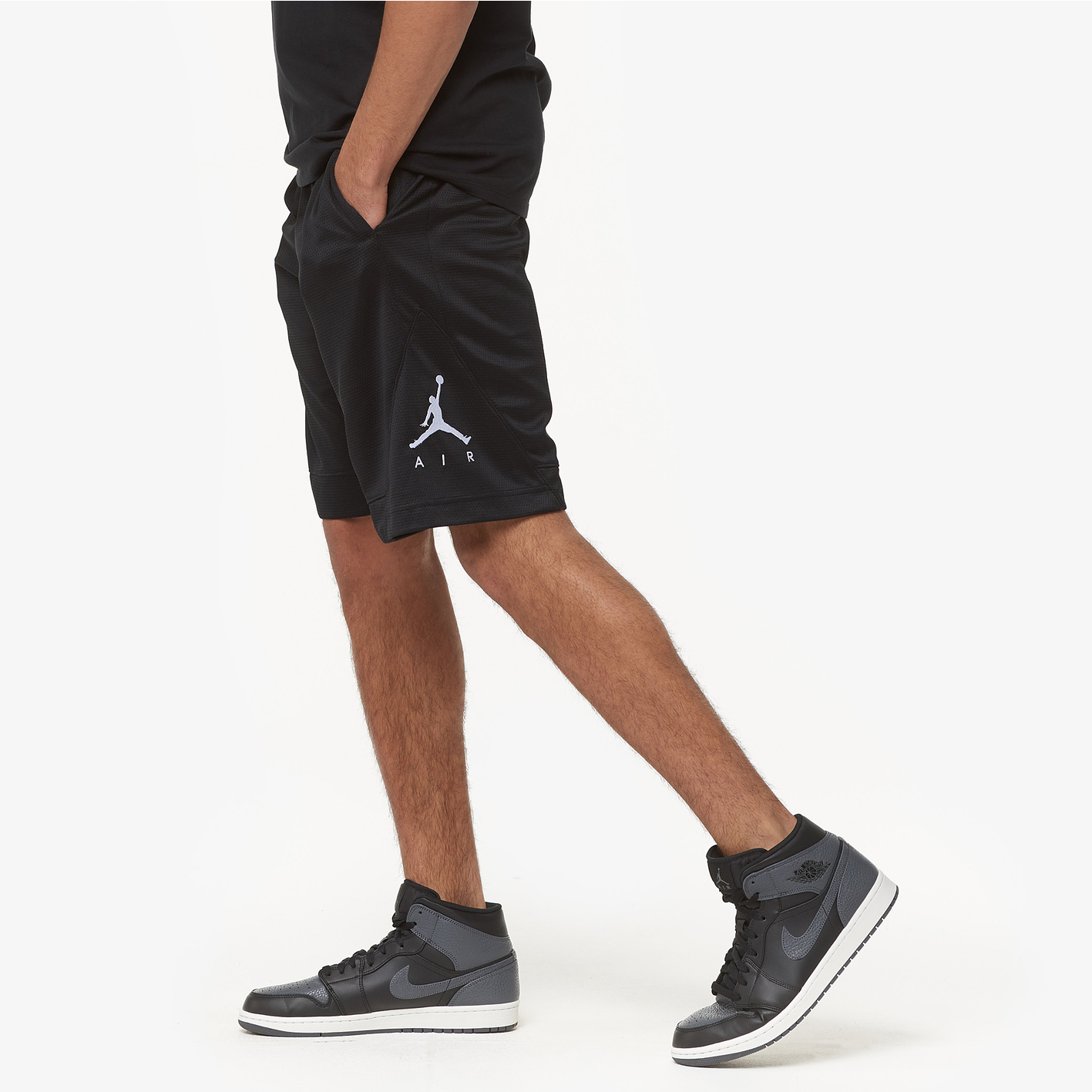 ae674e086b68 Jordan Rise Striped Triangle Shorts - Men s - Basketball - Clothing ...