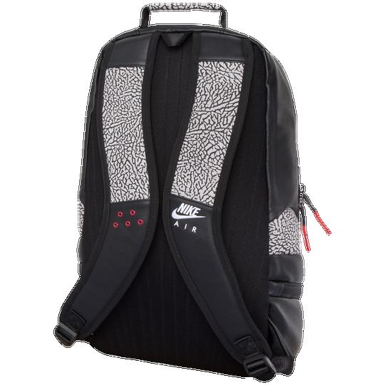 d4e6507ed0d Jordan Retro 3 Backpack - Basketball - Accessories - Black Gym Red ...