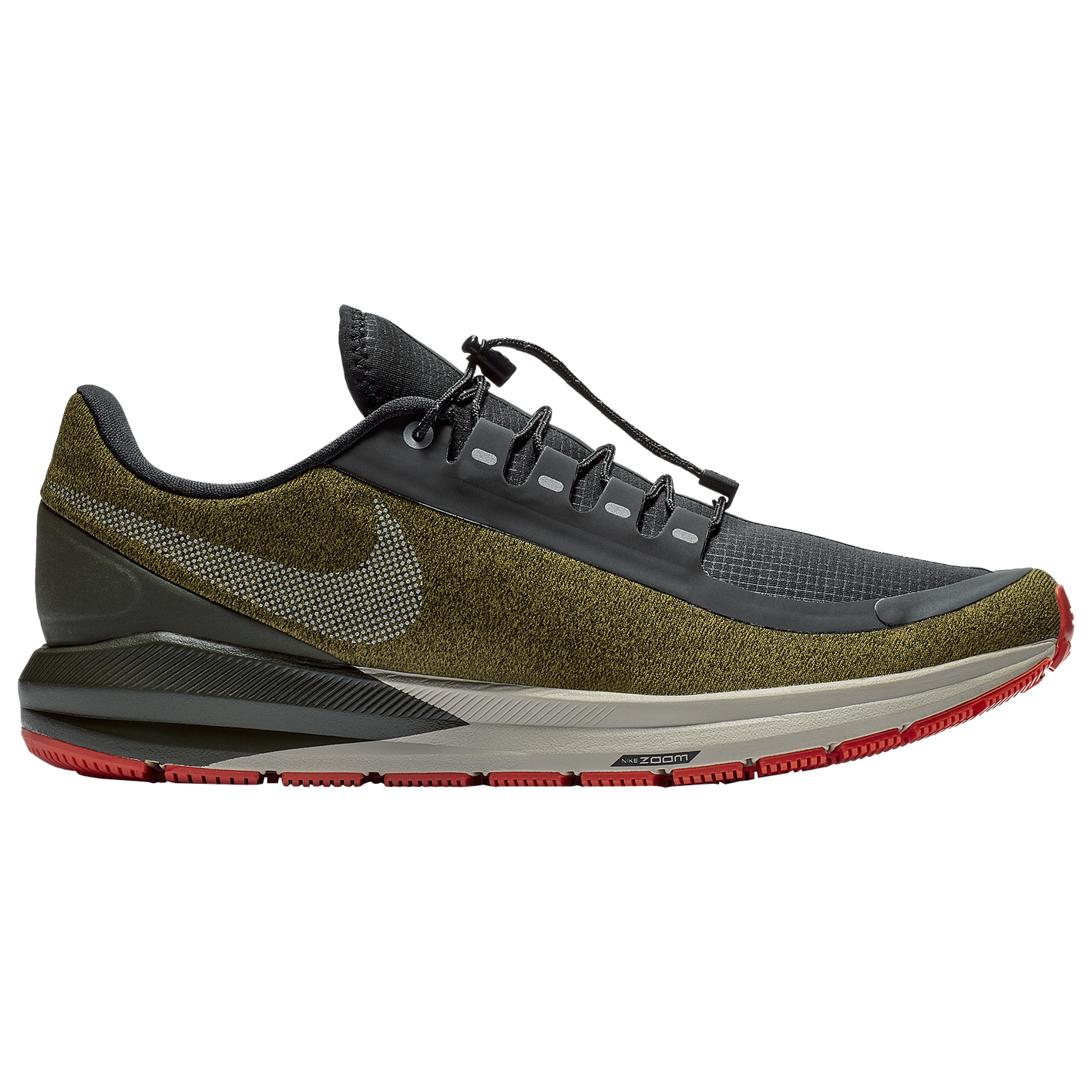 8397c712c0c7 Nike Air Zoom Structure 22 Shield - Men s.  119.99. Product    A1645300.  Selected Style  Olive Flak Metallic Silver Black String ...