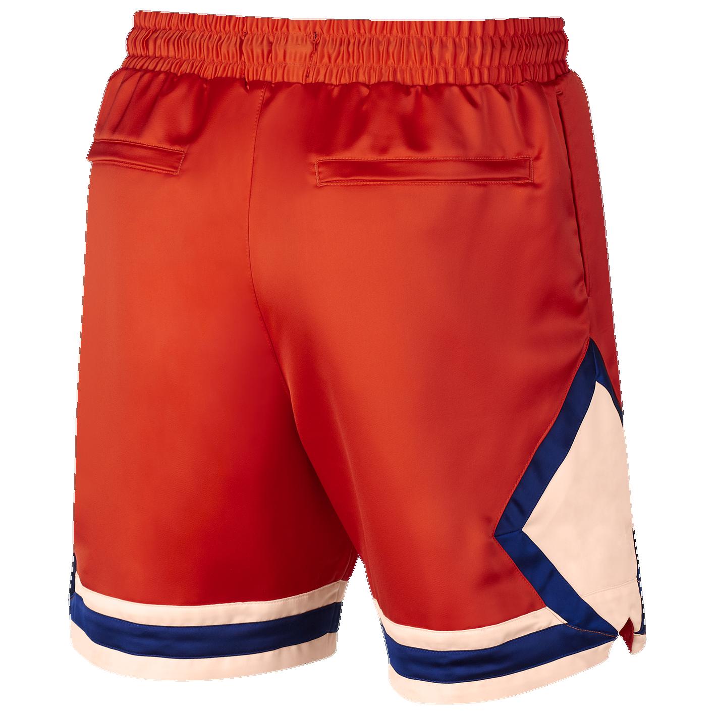 8b1682f645a Jordan Satin Diamond Shorts - Men's - Casual - Clothing - Team ...