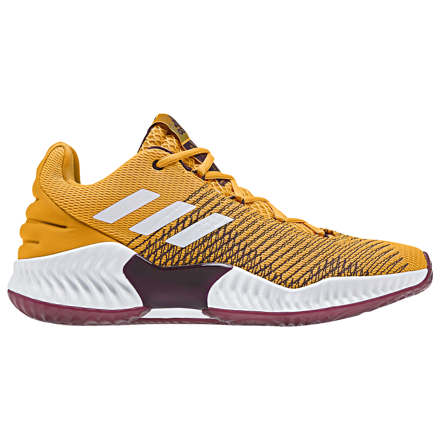 d76cfa4b25e adidas Pro Bounce Low 2018 - Men s - Basketball - Shoes - Gold White ...