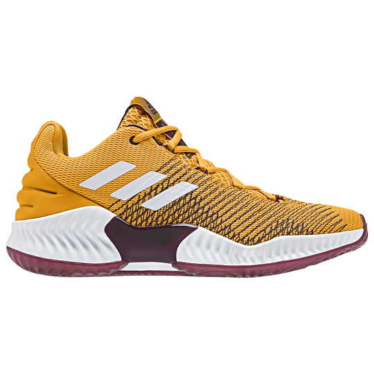 timeless design 74420 23b6d Adidas Pro Bounce Low 2018 Men S Basketball Shoes Gold White