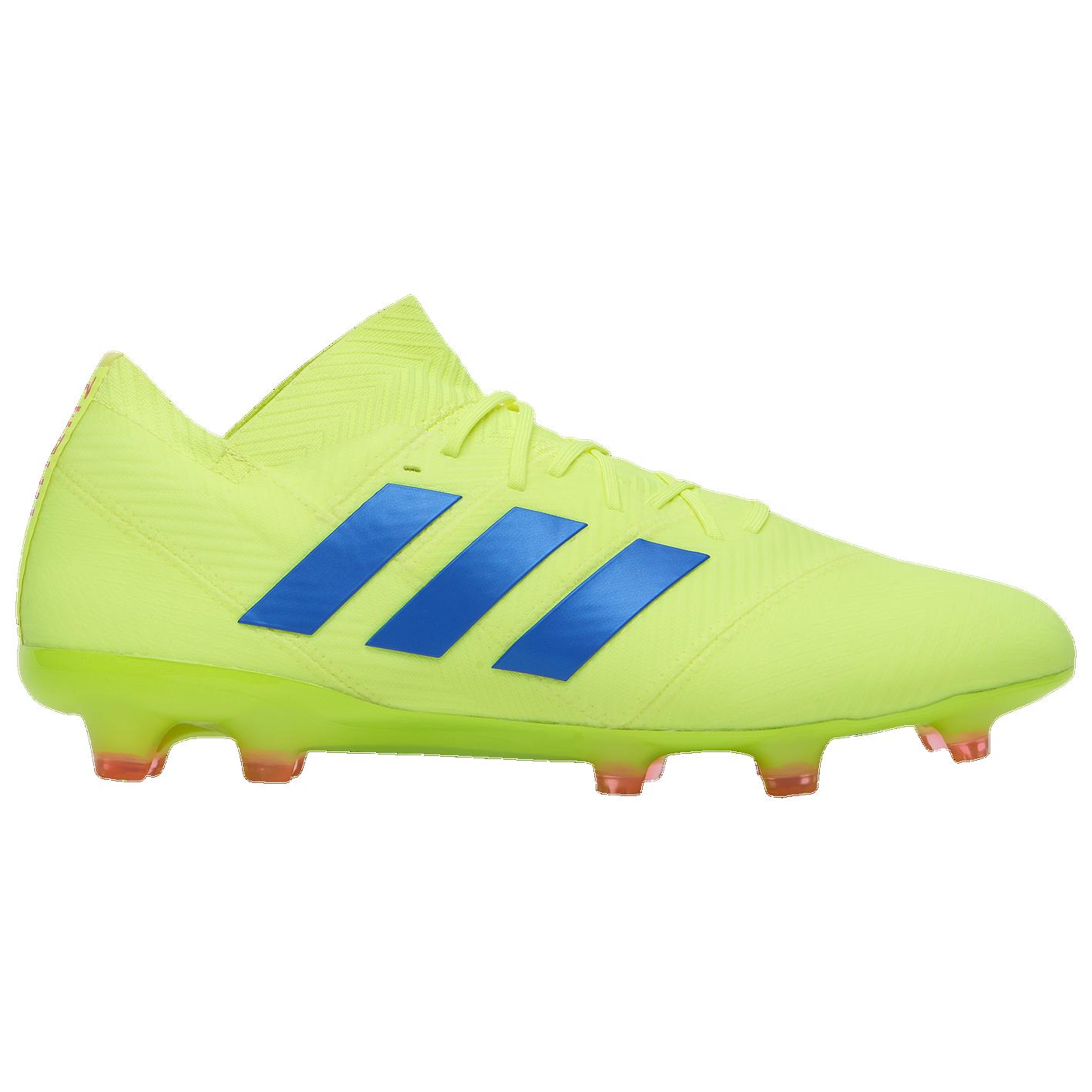 7ba7b1dfeed adidas Nemeziz 18.1 FG - Men s - Soccer - Shoes - Solar Yellow Blue ...