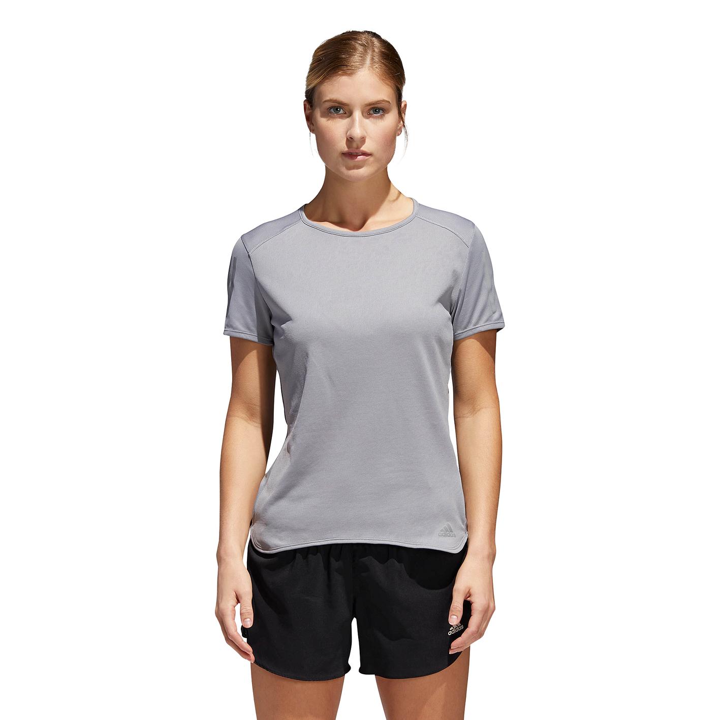 8015f1072df adidas Response Short Sleeve T-Shirt - Women's - Running - Clothing ...