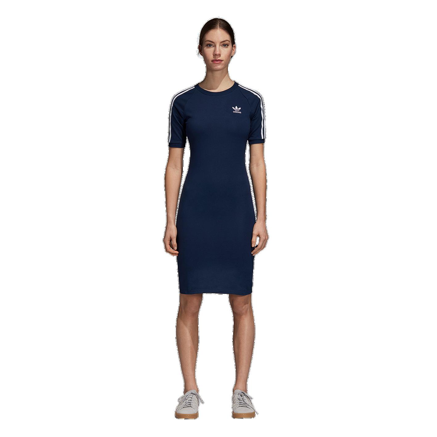 ced0b0925a1 adidas Originals Adicolor 3-Stripe Dress - Women's - Casual ...