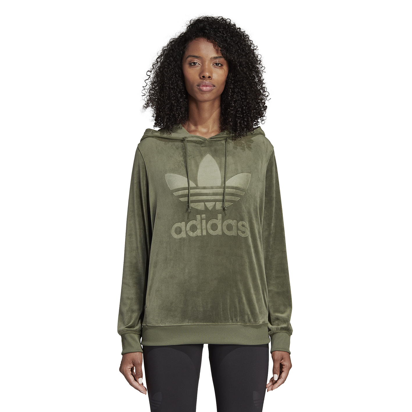 aaf97cc8a adidas Originals Winter Ease Velvet Hoodie - Women's - Casual ...