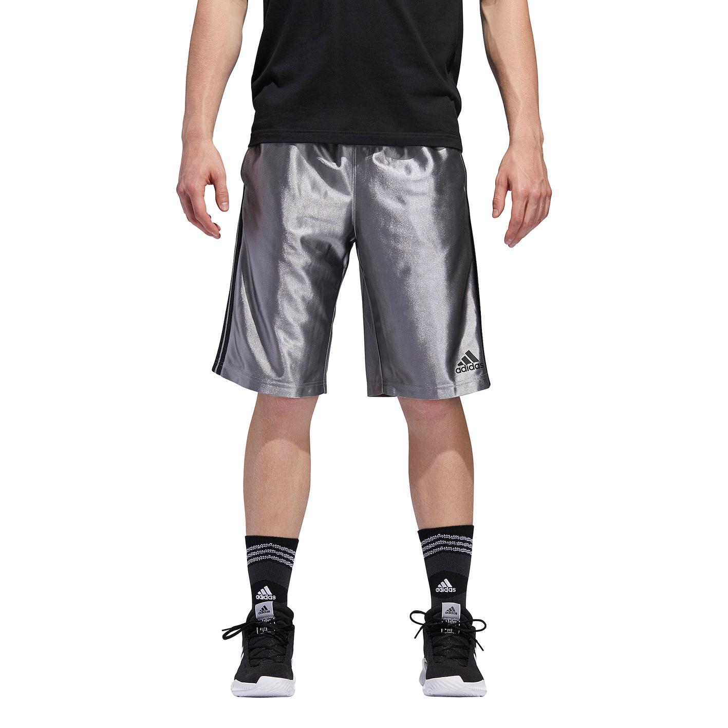 d5ca32a8e adidas New Basic 4 Shorts - Men's - Basketball - Clothing - Metallic ...