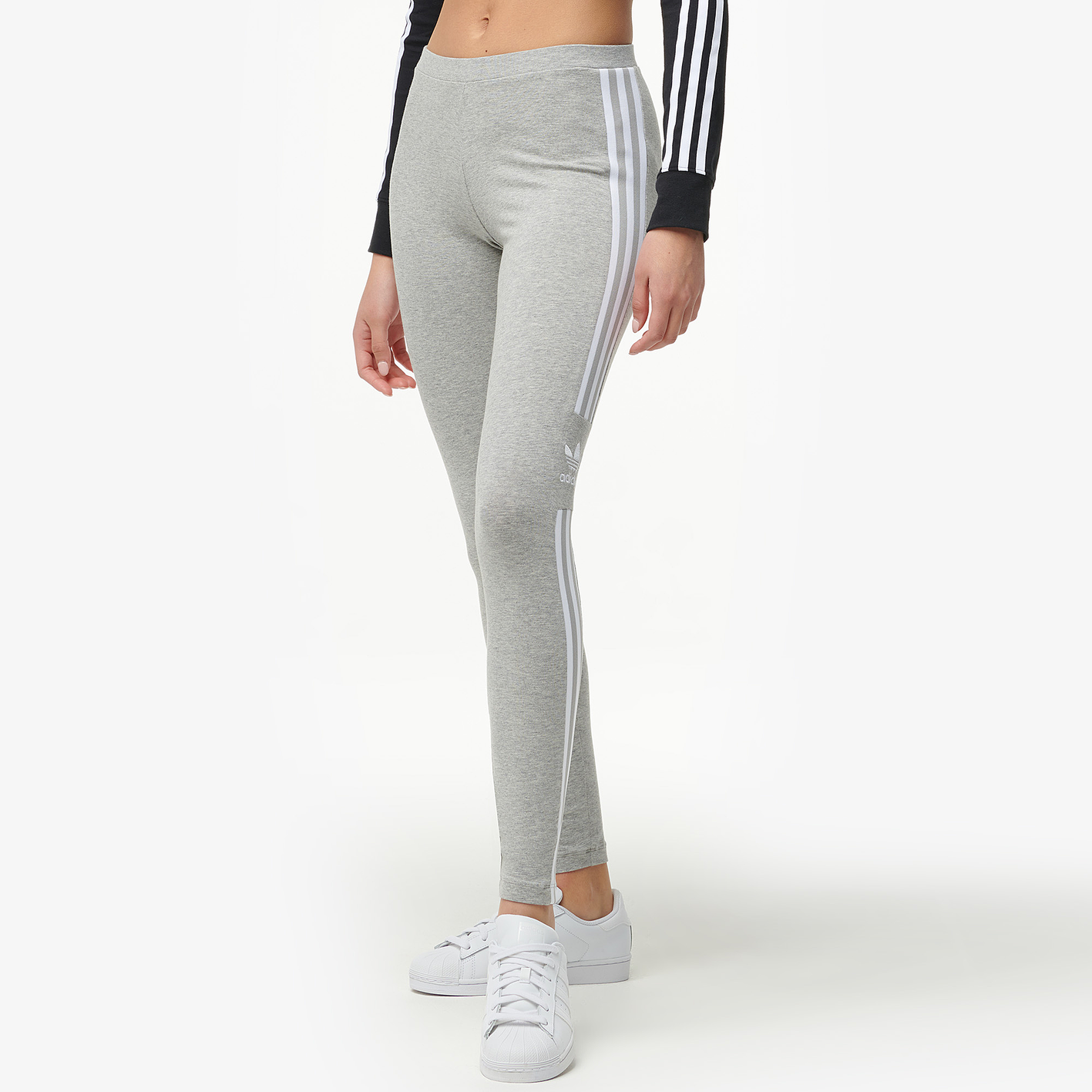 ef82393ef2e5b adidas Originals Adicolor New Trefoil Leggings - Women's - Casual ...