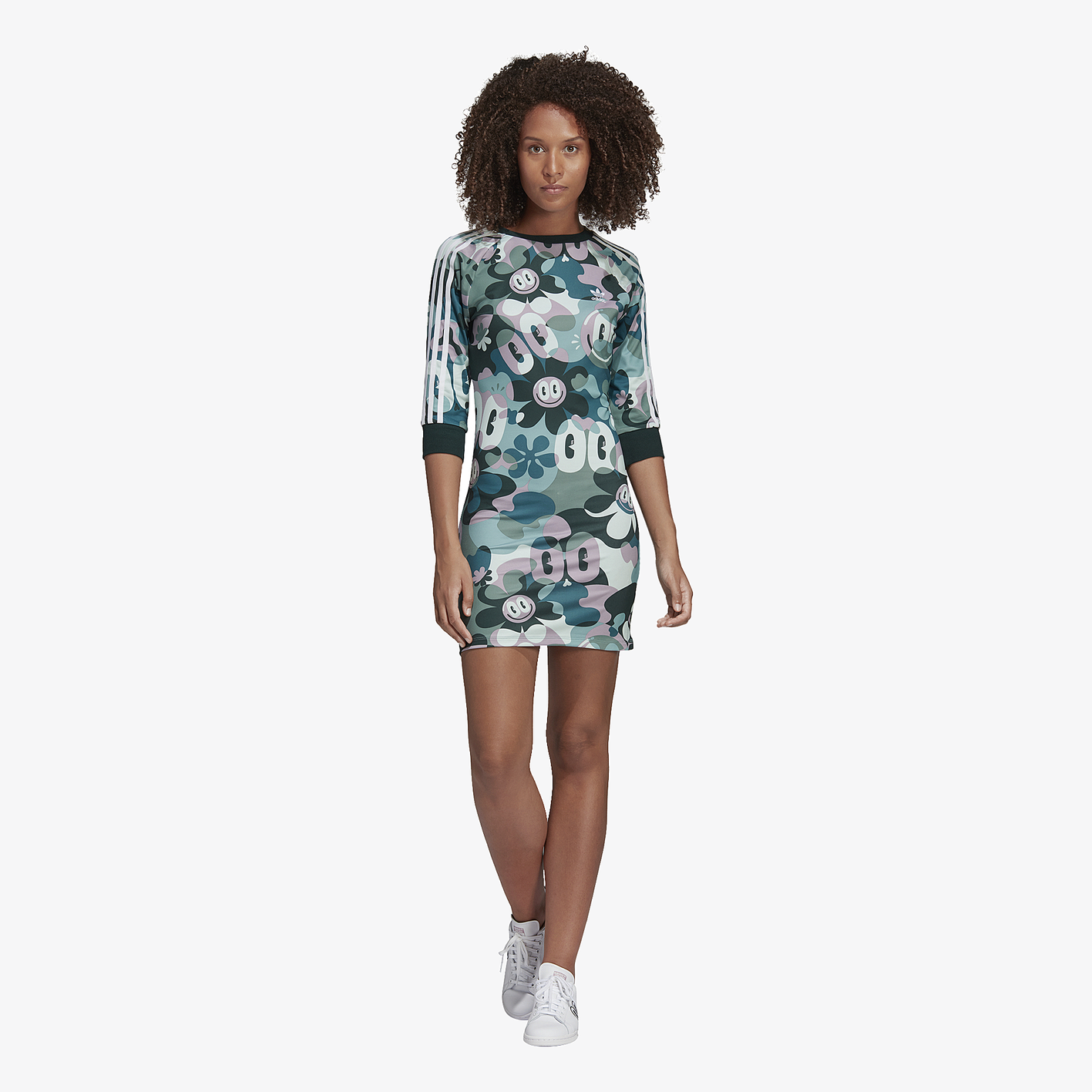 adidas Originals Gallery 3-Stripe Dress - Women s - Casual ... 1627aef8bd19