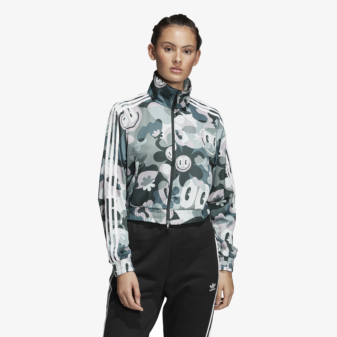 0b1f7fd5a6e1d adidas Originals Gallery Track Top - Women s - Casual - Clothing - Multi