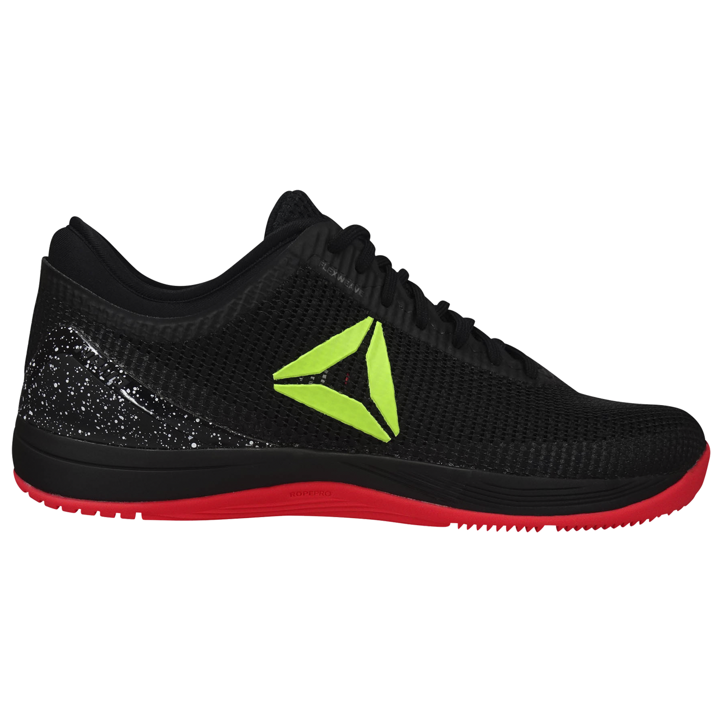 fa3cca5d712584 Reebok Crossfit Nano 8.0 - Men s - Training - Shoes - Black Neon Red ...