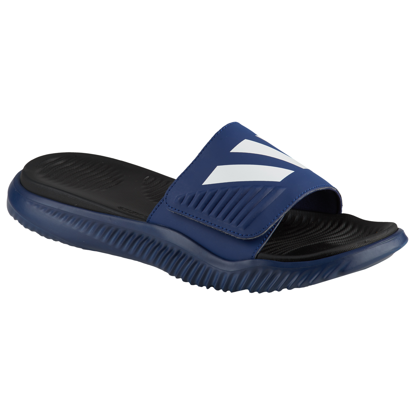 5e06615786dd adidas Alphabounce Slide - Men s.  35.00. Product    F774. Selected Style   Dark Blue White Core ...