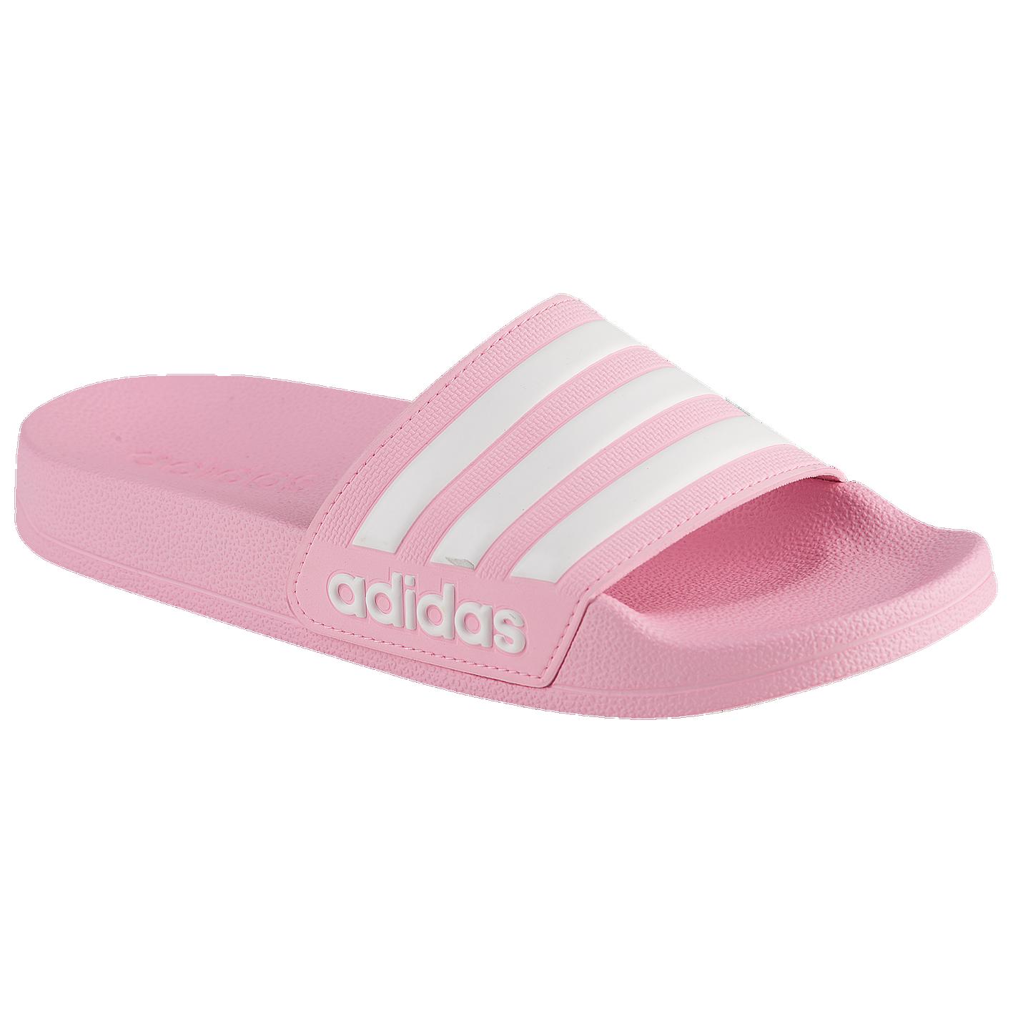 b5e3aed4d adidas Adilette Shower Slide - Girls' Grade School - Casual - Shoes ...