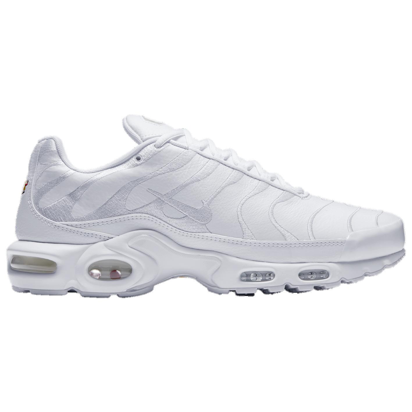 6336006767 Nike Air Max Plus - Men's - Casual - Shoes - White/White/White