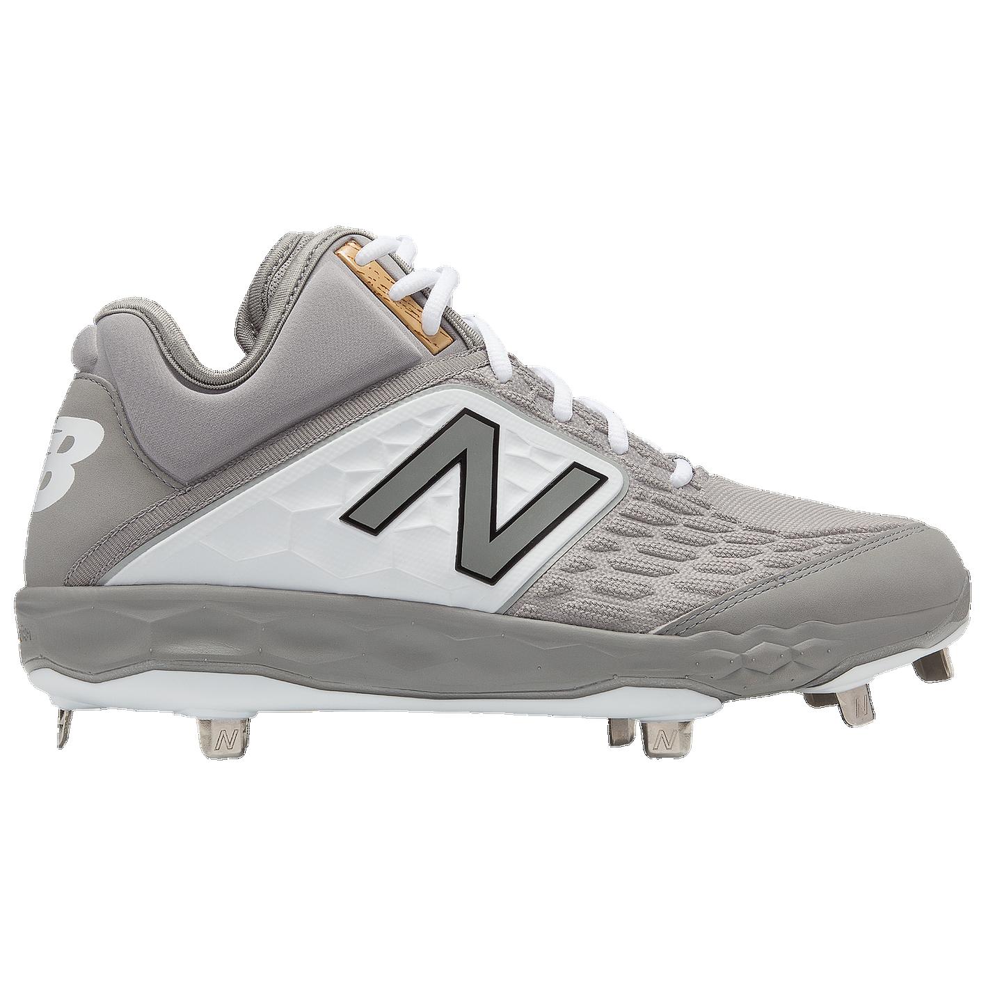 b9d51efe504 New Balance 3000v4 Metal Mid - Men s - Baseball - Shoes - Grey White