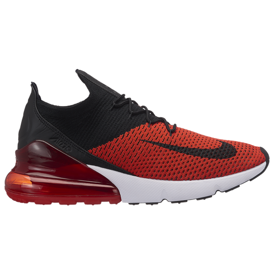 Nike Air Max 270 Flyknit - Men s - Casual - Shoes - Chili Red Black ... 2900c5c603ce6