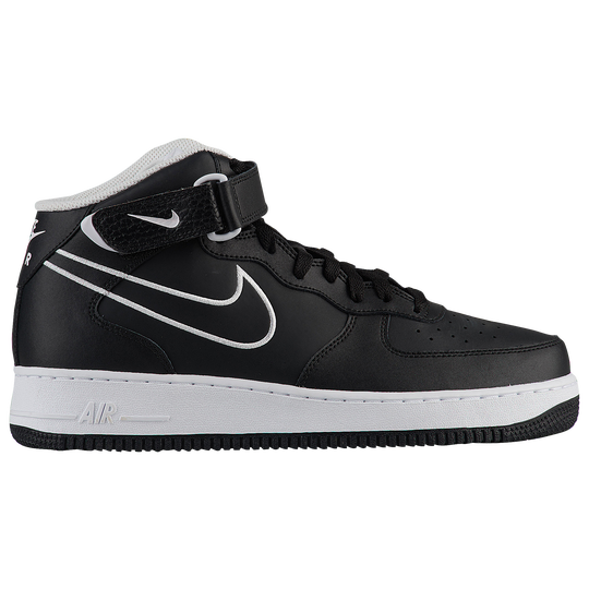 Nike Air Force 1 Mid - Men s - Casual - Shoes - Black White 3985efd8d