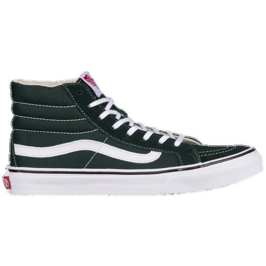 Vans SK8-Hi Slim - Women s - Casual - Shoes - Black True White a5098209753e9