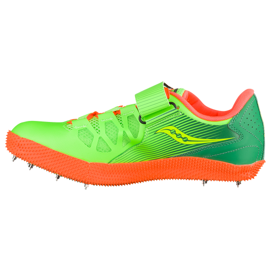 4ed06493 Saucony Uplift HJ 2 - Men's - Track & Field - Shoes - Citron/Vizi Orange