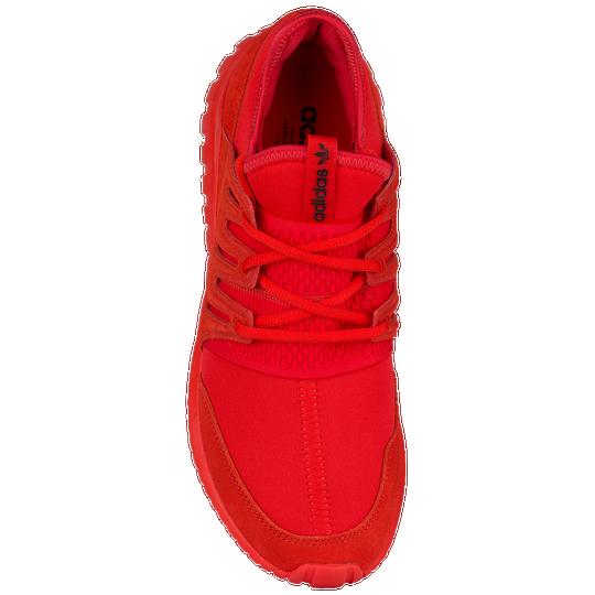new styles b07b5 3bc8f clearance adidas tubular radial red on feet a73f3 10ce1