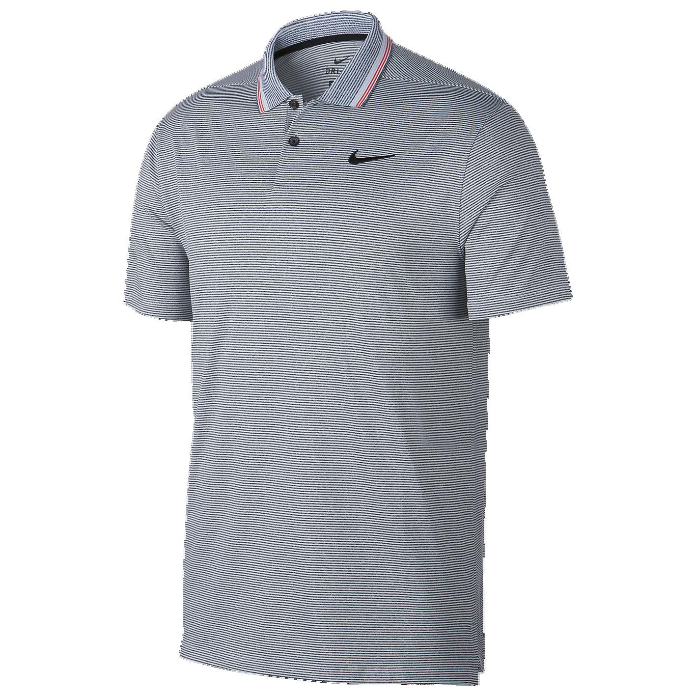 25bce8719 Nike Dry Vapor Control Golf Polo - Men s - Golf - Clothing - Black Pure