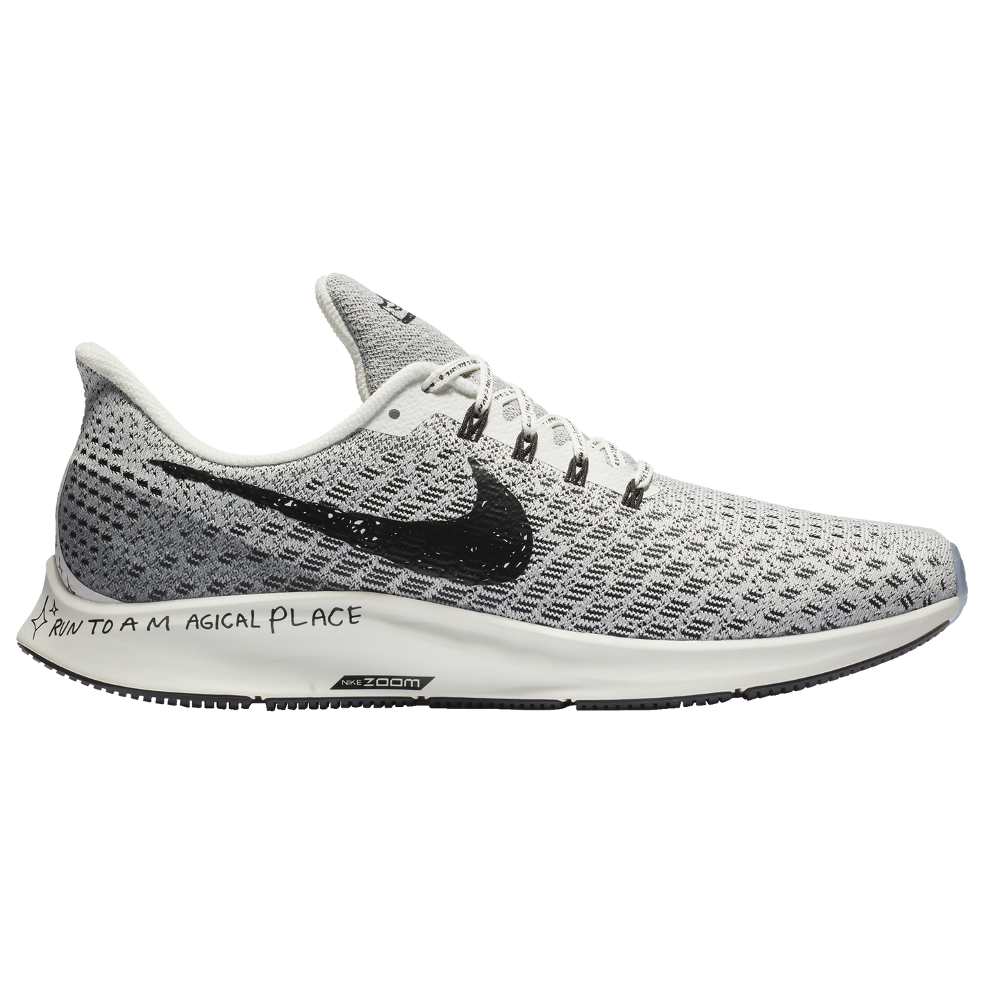 76990b56592 Nike Air Zoom Pegasus 35 - Men s - Running - Shoes - White Black