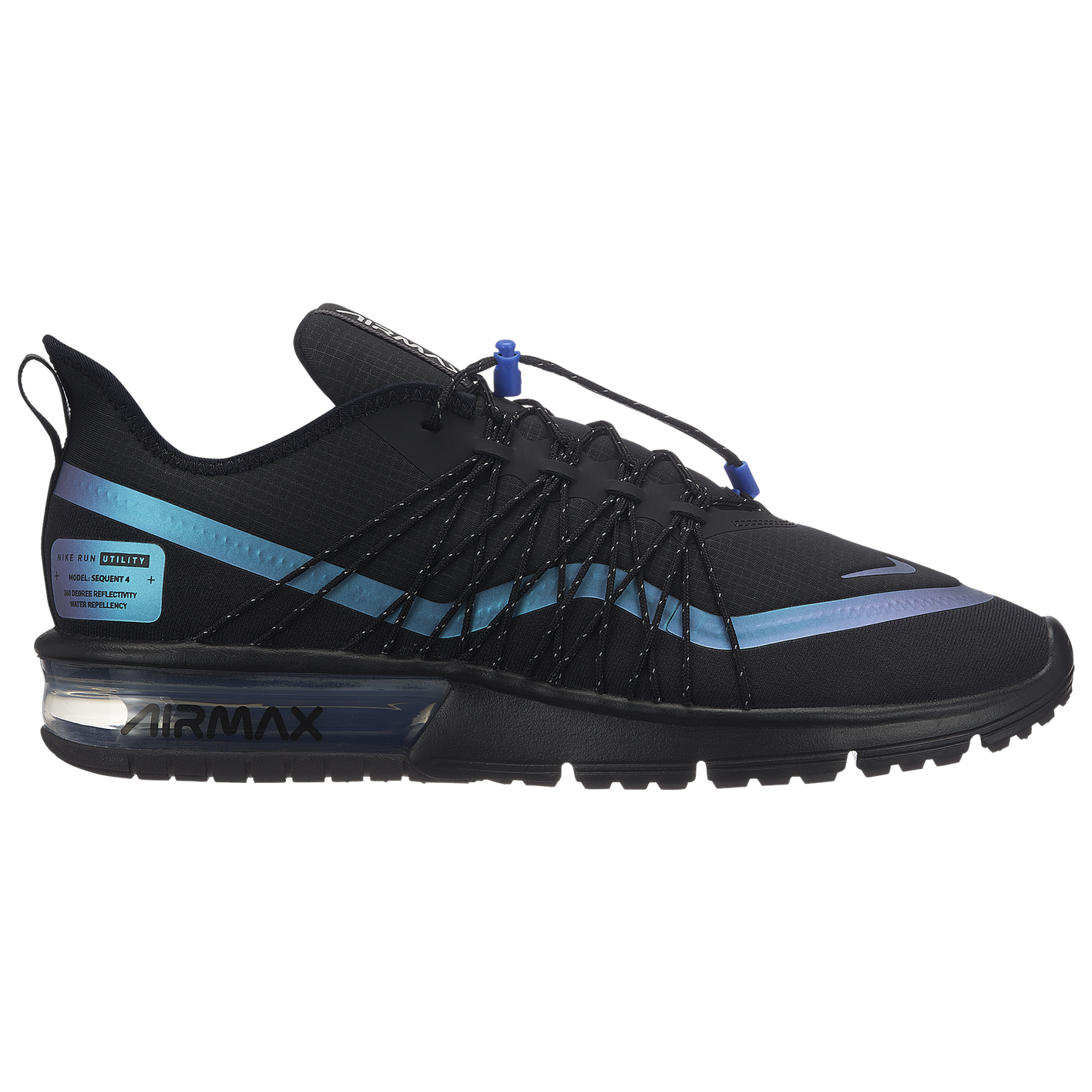 f2a23a8499 Nike Air Max Sequent 4 Utility - Men's - Casual - Shoes - Black ...