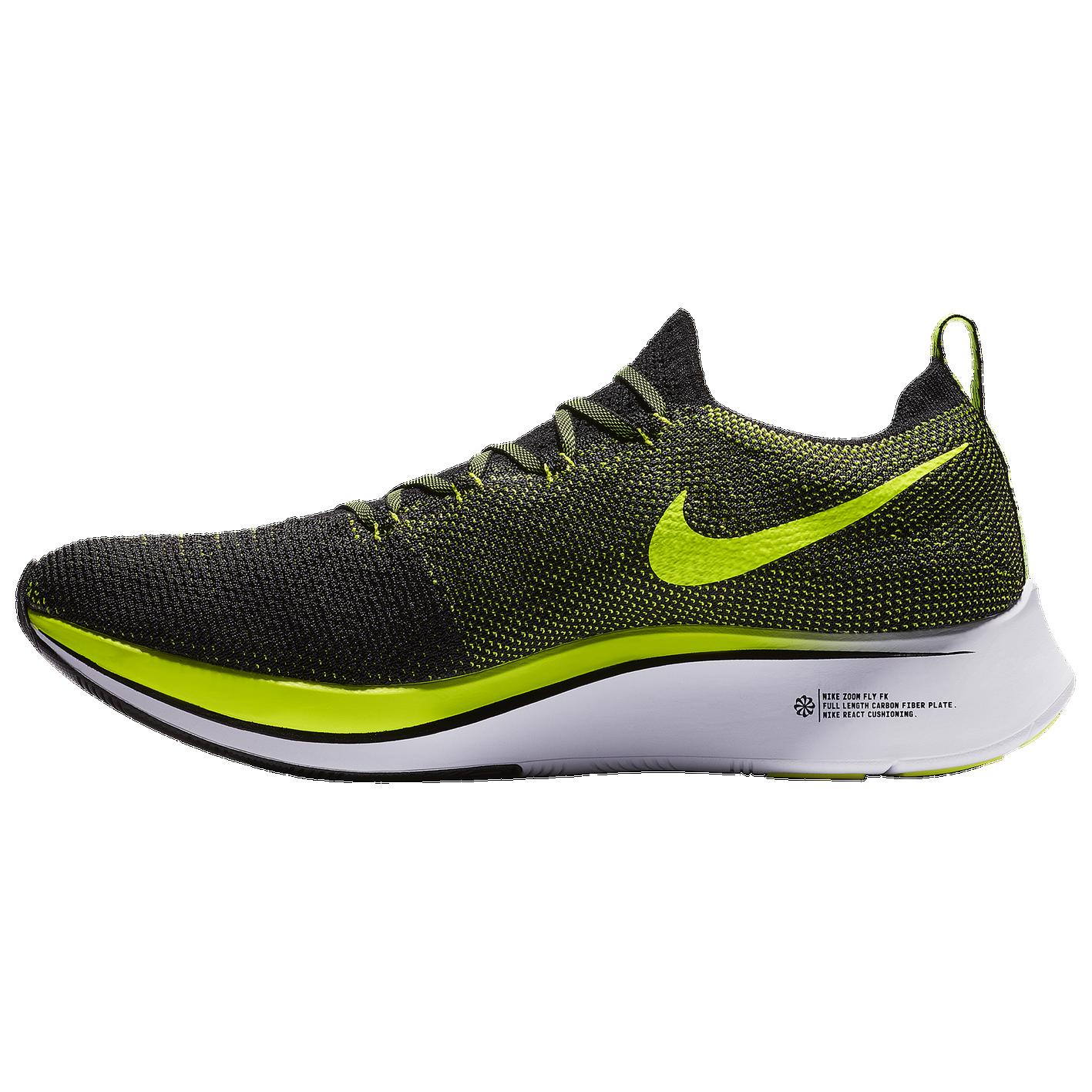 8ced686735da Nike Zoom Fly Flyknit - Men s - Track   Field - Shoes - Black Volt