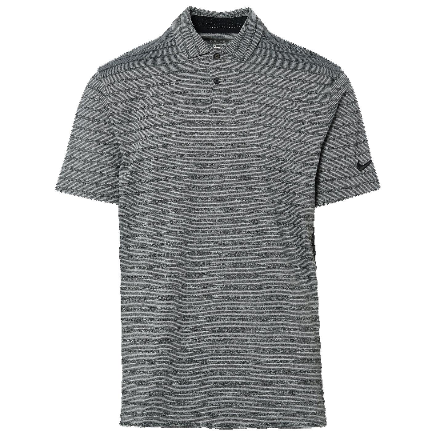 53ad4d0f28 Nike Dry Vapor Stripe Golf Polo - Men's - Golf - Clothing - Black/Pure