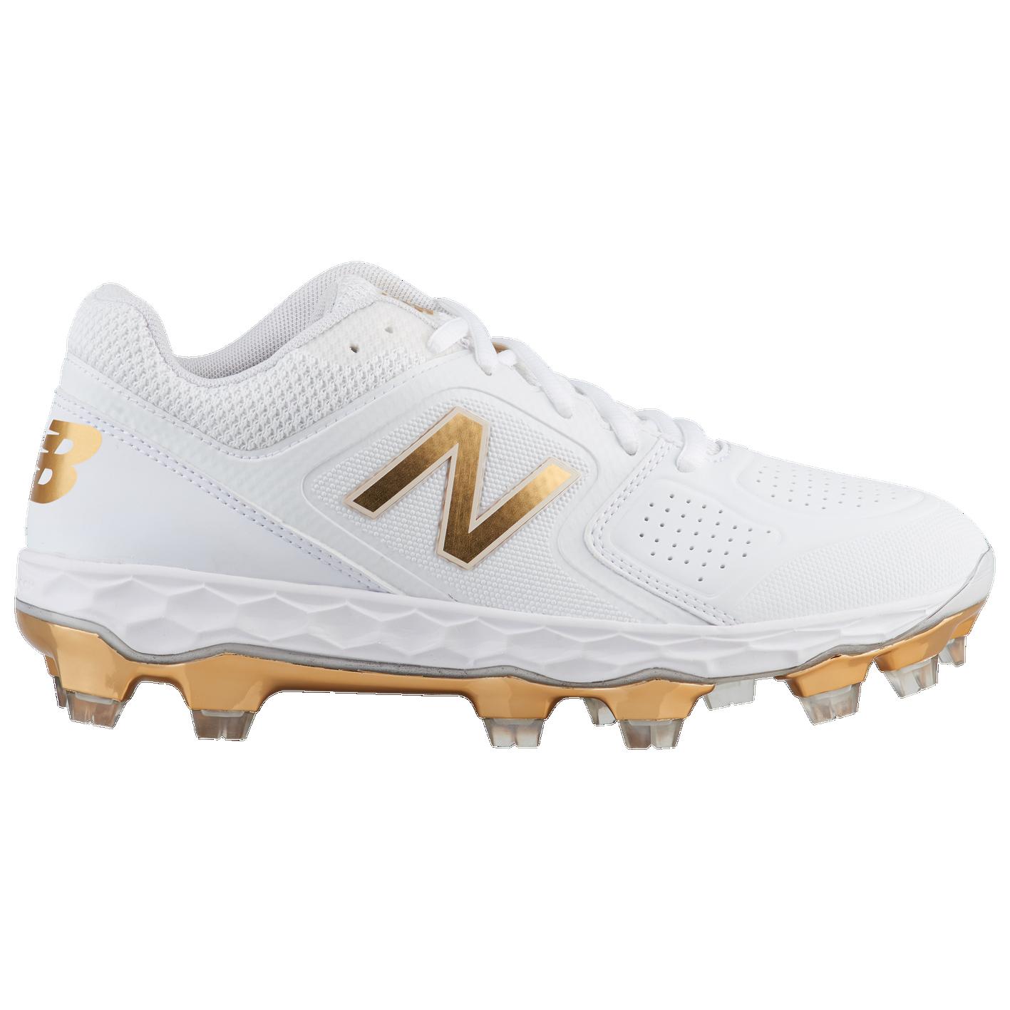 2d4de588d New Balance SPVELOv1 LE TPU Low - Women s - Softball - Shoes - White ...
