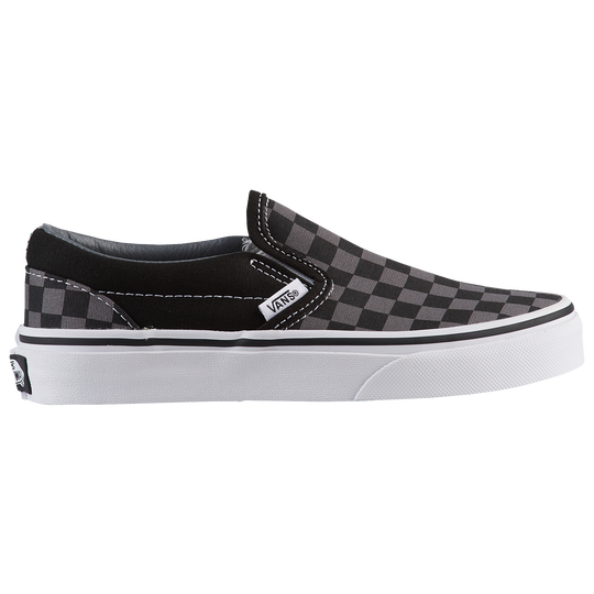 4f2bca55034e34 Vans Classic Slip On - Boys  Preschool - Casual - Shoes - Black Pewter