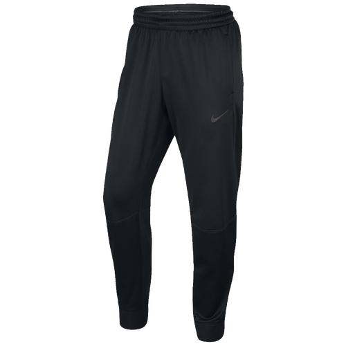 Nike Hyperelite Winterized Pants - Men's Basketball - Black/Iridescent 00039010