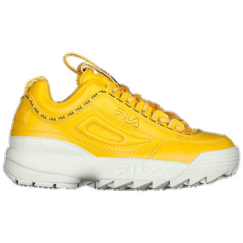 Fila Basketball Shoes Yellow