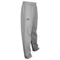 Under Armour Team Hustle Fleece Pants - Boys' Grade School - Grey / Grey