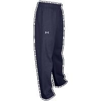 5bd0ea32b Under Armour Team Hustle Fleece Pants - Boys' Grade School - Navy / Navy