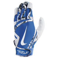 Nike Trout Edge Batting Gloves - Men's - White / Blue