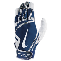 Nike Trout Edge Batting Gloves - Men's - White / Navy