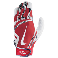 Nike Trout Edge Batting Gloves - Men's - White / Red