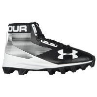Under Armour Hammer Mid RM JR - Boys' Grade School - Black / White