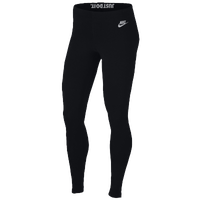 Nike Leg-A-See JDI Leggings - Women's - Black / Grey