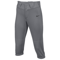 Nike Team Diamond Invader 3/4 Pants - Women's - Grey / Grey