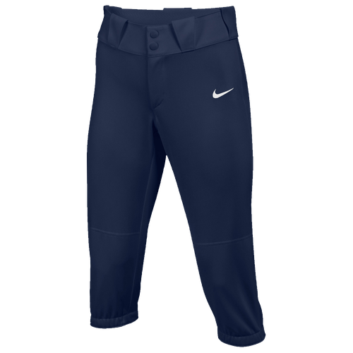 Nike Team Diamond Invader 3/4 Pants - Women's Softball - Team College Navy/White 00877419