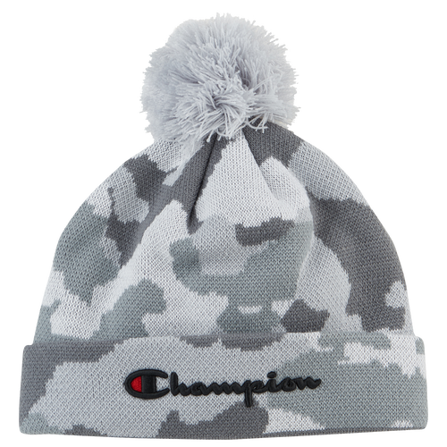 Champion Script Knit Pom Beanie - Adult - Casual - Accessories ... 56cfb56761e