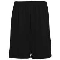Augusta Sportswear Team Training Shorts - Boys' Grade School - All Black / Black