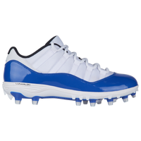 Jordan Retro 11 Low TD - Men's - White / Blue