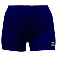 Mizuno Vortex Shorts - Women's - Navy / Navy